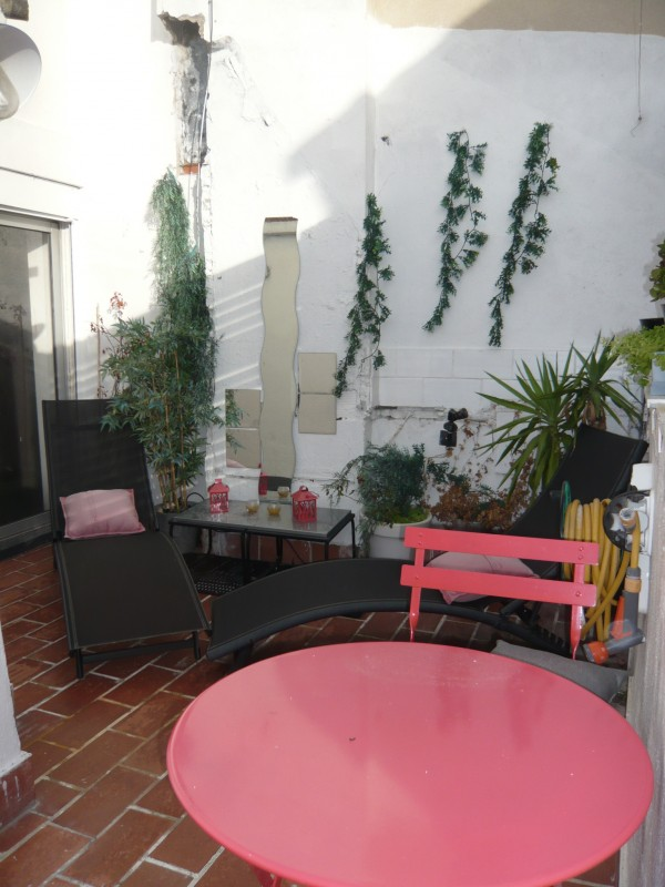 Locations appartement t2 f2 marseille 13007 quartier for Location appartement marseille terrasse