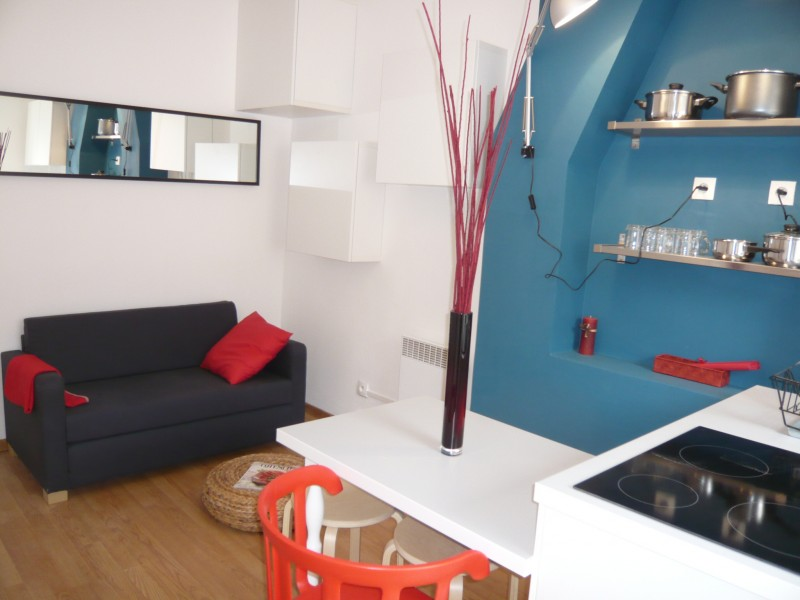 Locations appartement meubl t2 f2 marseille 13007 rue for Appartement meuble marseille