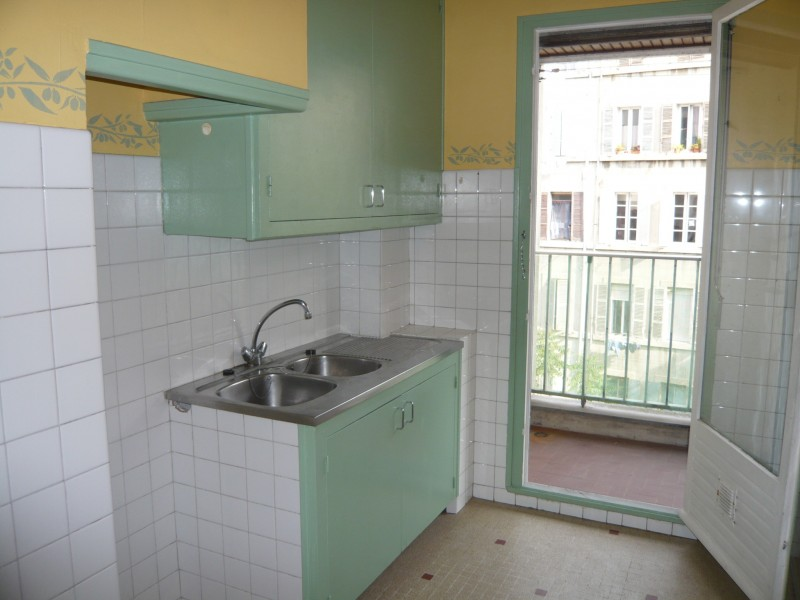 Location APPARTEMENT T1 - MARSEILLE 13007 - QUARTIER DES CATALANS - BALCON, ASCENSEUR,CAVE