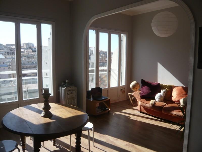 Locations appartement t3 f3 marseille 13007 quartier for Location appartement marseille terrasse en ville