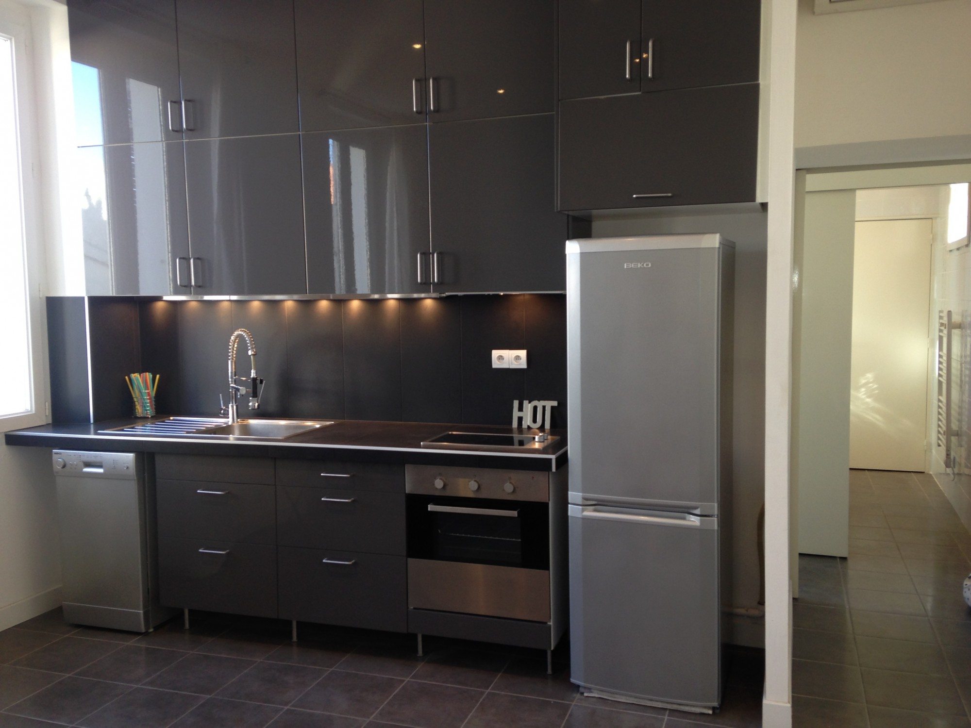 Locations appartement t2 f2 13007 quartier st victor for Petit cuisine equipee