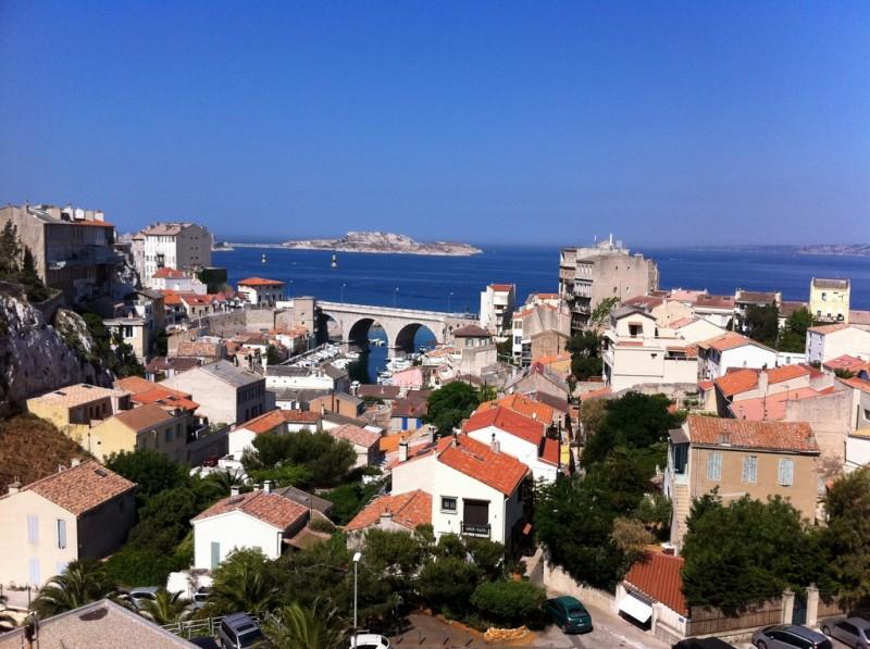 Vente Appartement T2 Marseille - Vallon des Auffes / Corniche 13007 -  Belle vue mer