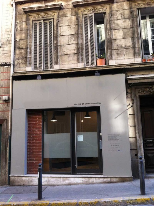 Ventes local commercial t1 f1 marseille 13006 haut for Agence immobiliere 13006