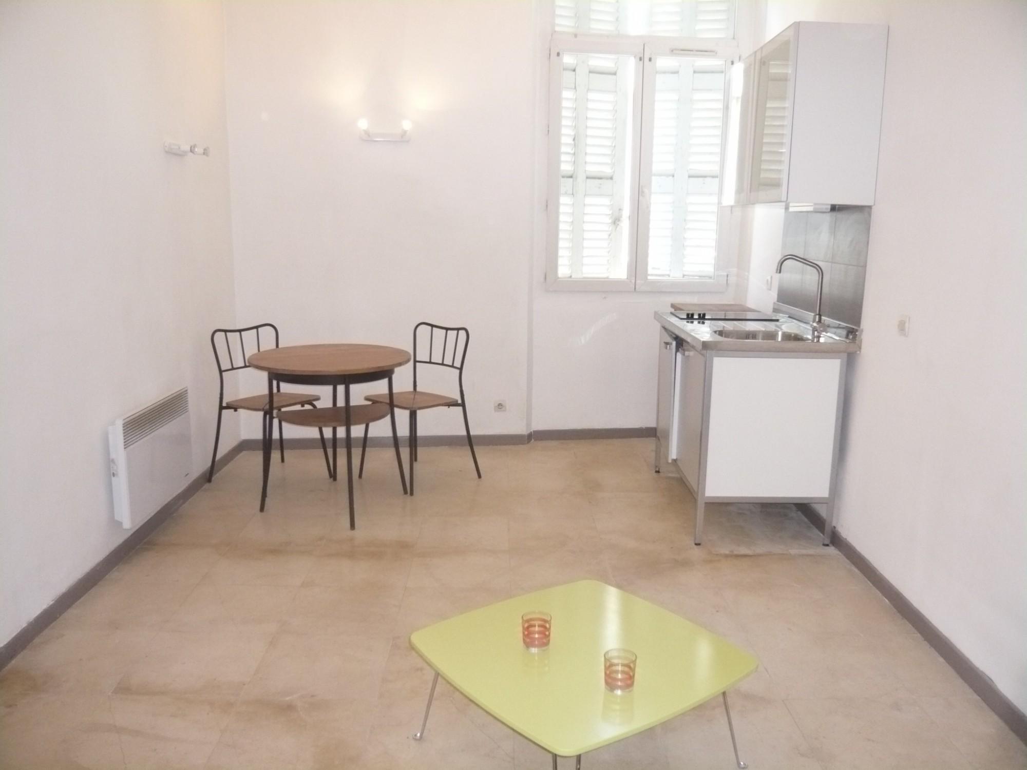 Ventes appartement t1 f1 marseille 07 quartier saint for Appartement meuble marseille