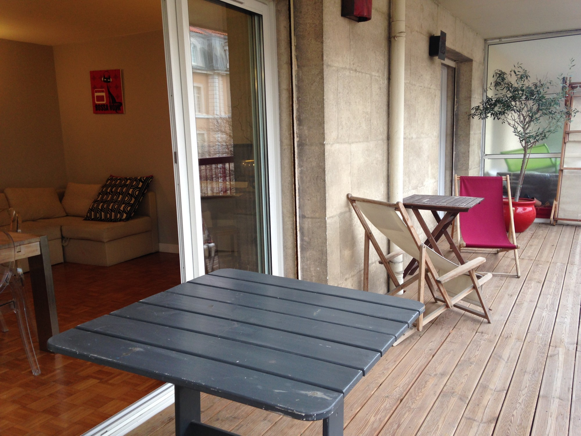 Ventes appartement t4 f4 marseille 13007 quartier for Appartement terrasse 13007