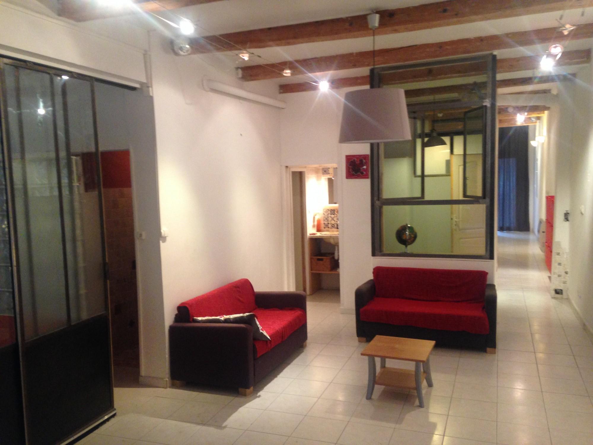 ventes appartement t4 f4 marseille 07 bd andr aune loft 3 chambres cuisine quip e deux. Black Bedroom Furniture Sets. Home Design Ideas
