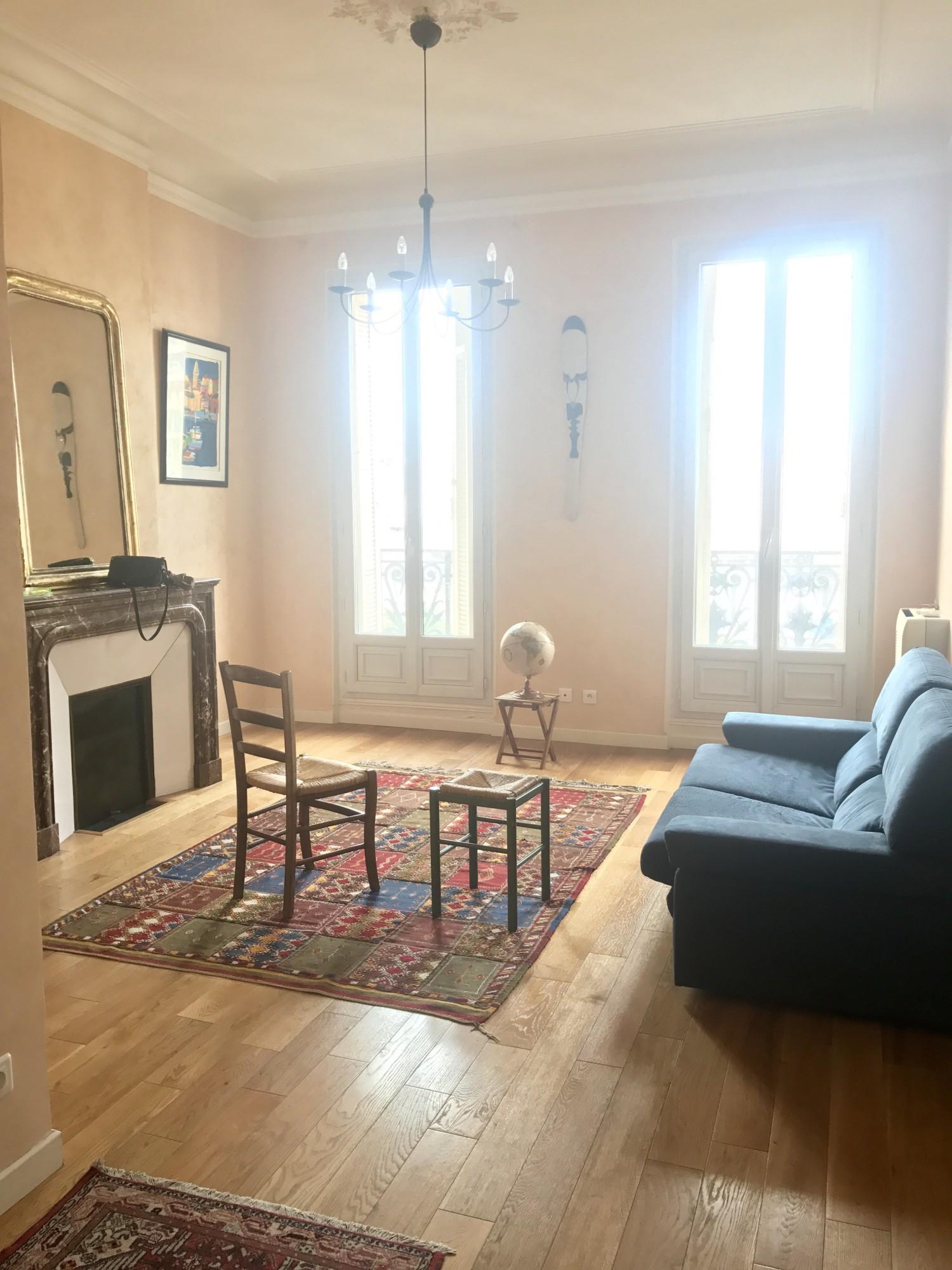 ventes appartement t3 f3 13006 baille castellane ancien grand salon parquet chemin es. Black Bedroom Furniture Sets. Home Design Ideas