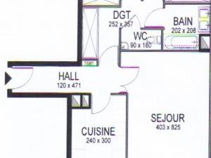 Location APPARTEMENT T3 - MARSEILLE 13006  - PERIER VAUBAN NEUF DE STANDING, BOX, TERRASSE, CUISINE ÉQUIPÉE, SÉCURISE,