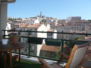 Location T3 avec terrasse Marseille 13007