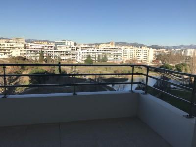 Location APPARTEMENT T3 - 13008 - Cantini / Rouet - Neuf, cusine équipée, terrasse, vue dégagée, garage fermé ...