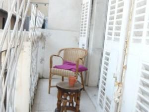 Vente Appartement T2 - MARSEILLE 13007 - HAUT COURS PIERRE PUGET - HAUTS PLAFONDS, TOMETTES, TRAVERSANT, BALCON