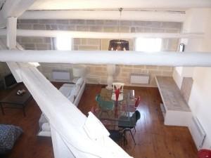 Vente Appartement T2 - MARSEILLE 13001 - VIEUX PORT-PLACE AUX HUILES - VUE PORT, CUISINE EQUIPÉE, POUTRES, PARQUET, CHEMINÉE ...